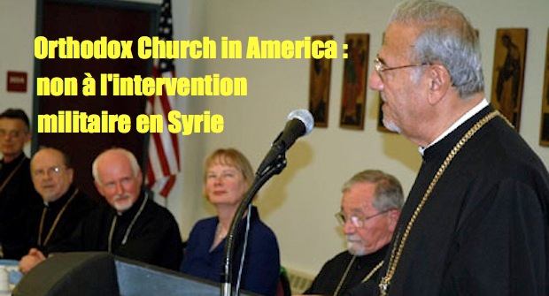 L'Orthodox Church in America s'oppose à une intervention en Syrie