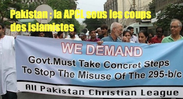 La All Pakistan Christian League dans le collimateur des islamistes