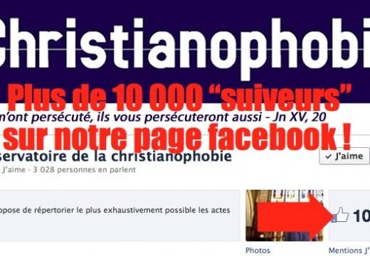 """Plus de 10 000 """"suiveurs"""" sur la page facebook de L'Obs !"""