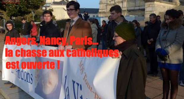 Tour de France de la haine anticatholique : Angers, Nancy, Paris…