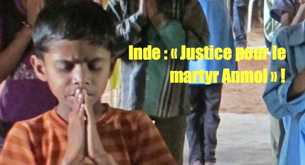 Inde : campagne « Justice pour le martyr Anmol » !