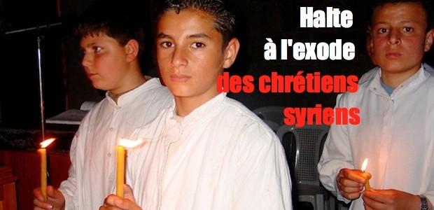 L'Exode des chrétiens syriens Exode-chre%CC%81tiens-syriens-620x300