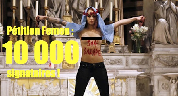 Dissolution de Femen France : plus de 10 000 signataires !