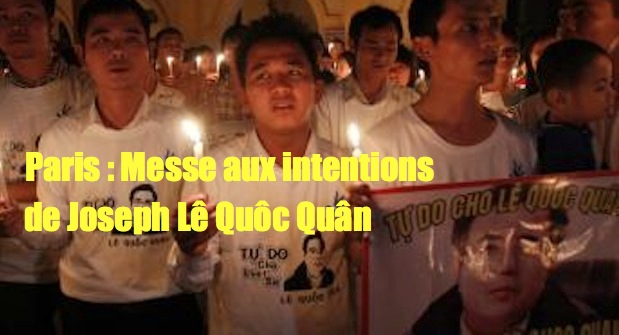 Paris : messe aux intentions de Joseph Lê Quôc Quân