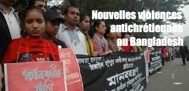 Bangladesh : les violences antichrétiennes reprennent…