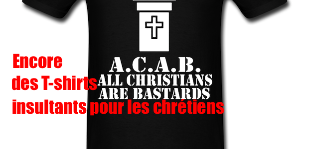 "Encore quelques ""aimables"" T-shirts anarchistes…"