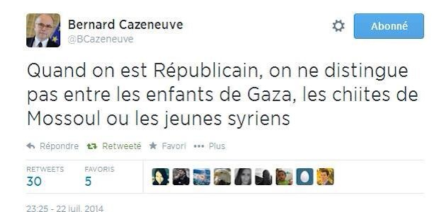 cazeneuve tweet