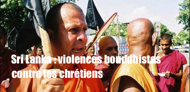 Sri Lanka : provocations et violences bouddhistes contre les chrétiens