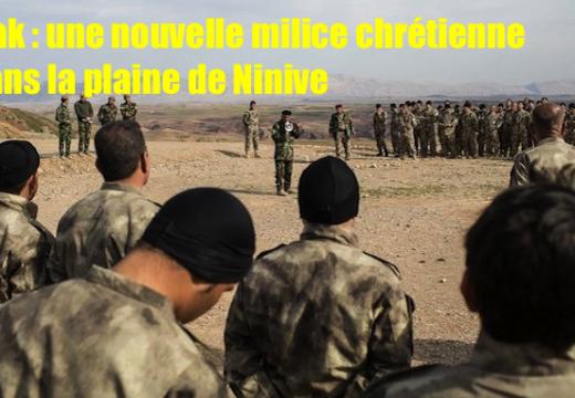 Irak : une milice chrétienne anti État Islamique se met en place