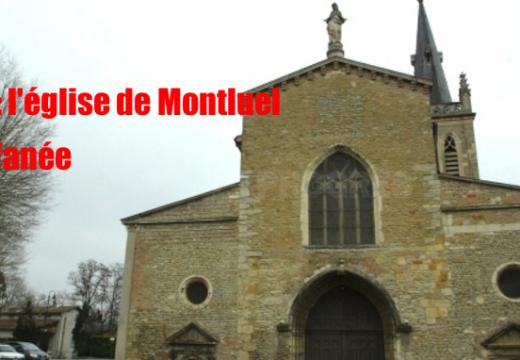 Ain : église profanée à Montluel