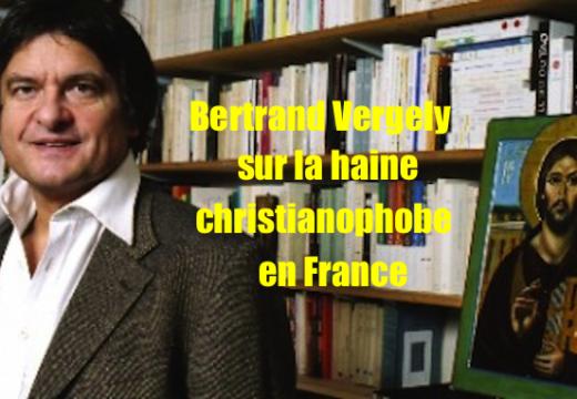 Bertrand Vergely : désormais un chrétien doit se taire, même quand on massacre ses frères…