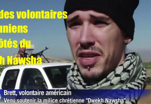 Irak : des volontaires Étatsuniens aux côtés du Dwekh Nawsha