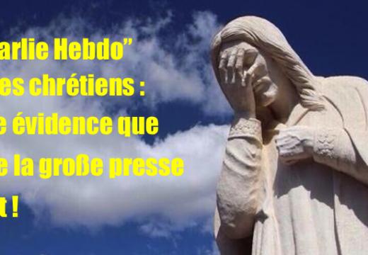 """""""Charlie Hebdo"""" : la première cible de ses """"unes"""" ce sont les chrétiens"""