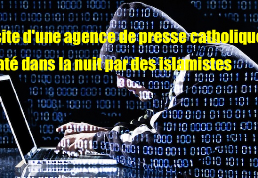 France : un site catholique d'informations piraté
