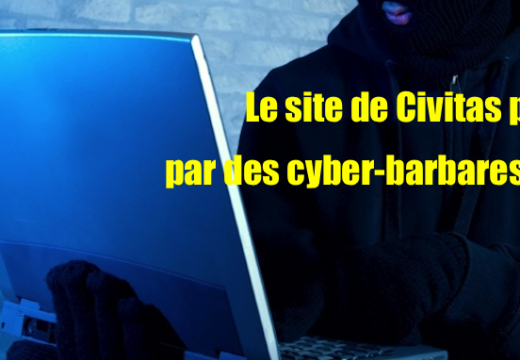 France : le site de l'Institut Civitas également piraté par des islamistes