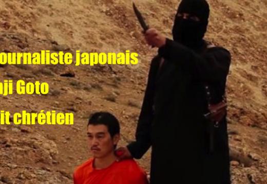 Le journaliste Kenji Goto était chrétien
