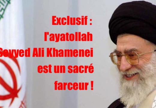La blague du jour nous vient du Guide suprême de la Révolution islamique