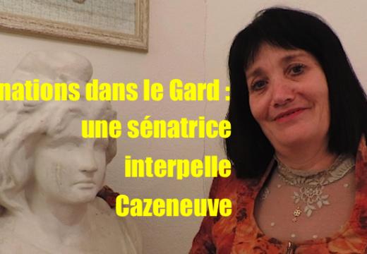 Une sénatrice du Gard interpelle Cazeneuve sur les profanations antichrétiennes