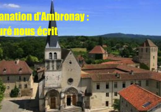 Profanations dans l'Ain : le curé d'Ambronay nous écrit