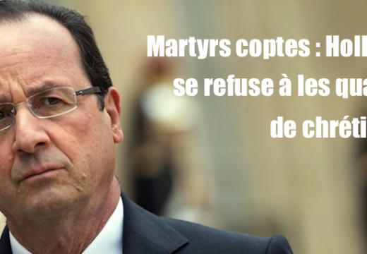 Coptes égyptiens assassinés : un communiqué honteux de l'Élysée
