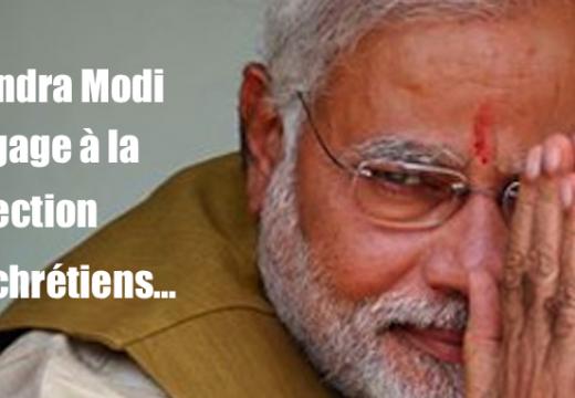 Protection des chrétiens : le Premier Ministre indien s'y engage