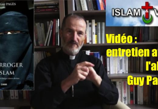 Vidéo : l'abbé Guy Pagès répond aux questions de Joachim Véliocas