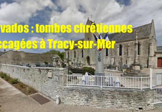 Calvados : des dizaines de tombes chrétiennes vandalisées