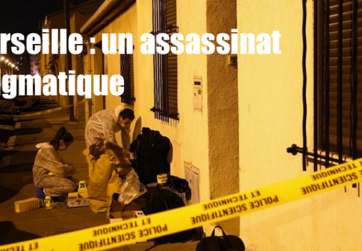 Marseille : un assassinat suspect…