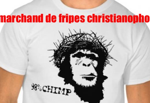 Un marchand de fripes offense les chrétiens