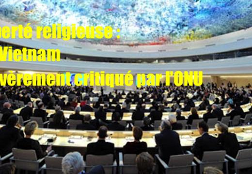Vietnam : graves problèmes de liberté religieuse selon l'ONU