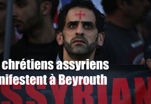 Beyrouth : les chrétiens assyriens manifestent