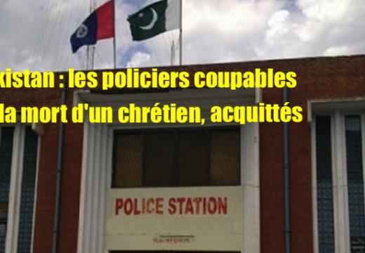 Pakistan : les policiers qui ont torturé à mort un jeune chrétien, acquittés !