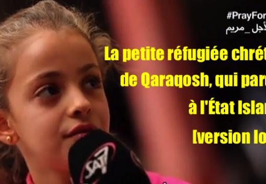 Vidéo : la version longue de l'entretien de Myriam avec Sat-7