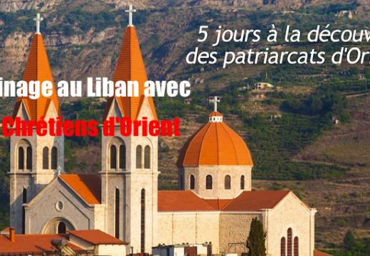 Un pèlerinage au Liban avec S.O.S. Chrétiens d'Orient