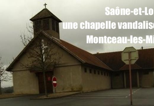 Saône-et-Loire : une chapelle vandalisée à Montceau-les-Mines
