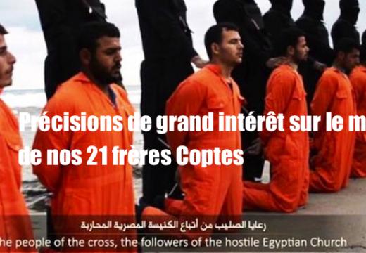 Martyrs coptes : un décryptage d'intérêt de la vidéo des islamistes