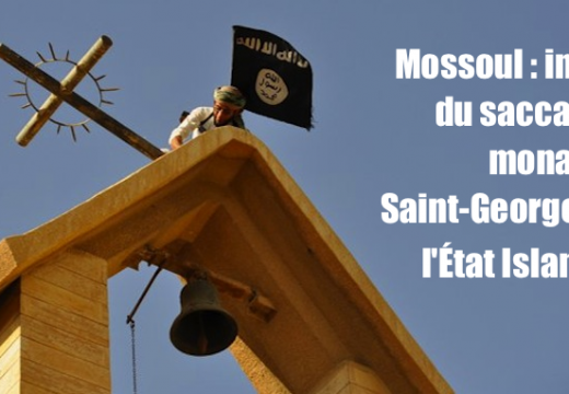 Mossoul : des photos du saccage par l'État Islamique du monastère Saint-Georges