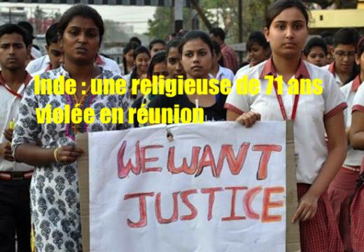 Inde : une religieuse de 71 ans violée en réunion par un gang !