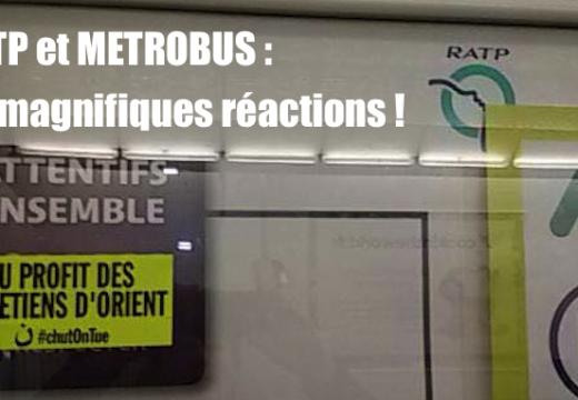 La RATP et METROBUS l'ont bien cherché !