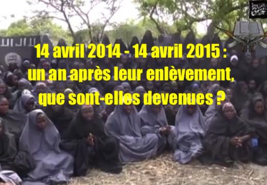 Lycéennes nigérianes enlevées : un an déjà et toujours pas de nouvelles