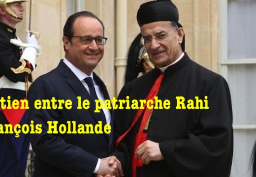 Paris : entretien entre le patriarche Rahi et Hollande