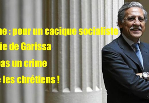 Espagne : un cacique socialiste dans le déni de réalité sur le massacre de Garissa