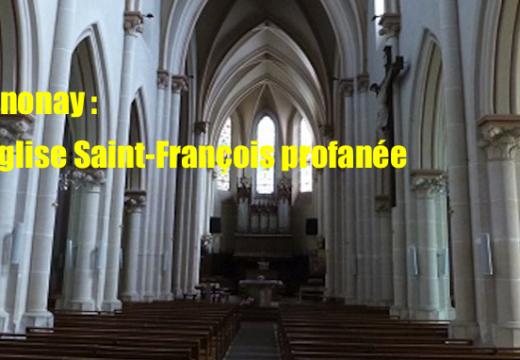 Ardèche : profanation d'une église à Annonay