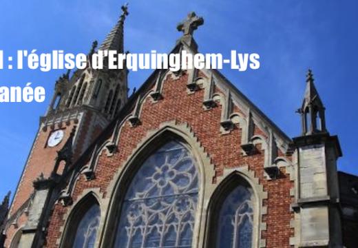 Nord : l'église d'Erquinghem-Lys profanée