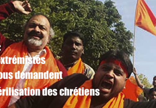 Inde : quand des extrémistes hindous appellent à la stérilisation des chrétiens
