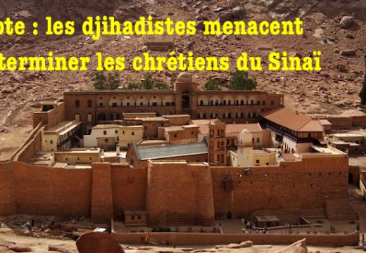 Égypte : menaces djihadistes ciblées contre les chrétiens du Sinaï
