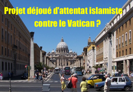 Un projet terroriste contre le Vatican déjoué par la police italienne ?