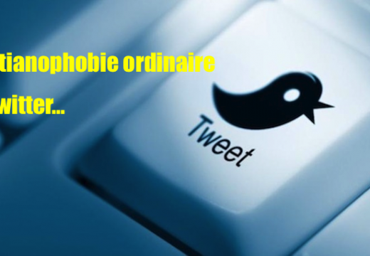 Insultes christianophobes sur Twitter