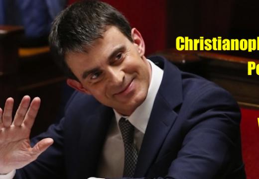 Manuel Valls oblitère encore une fois les chrétiens !