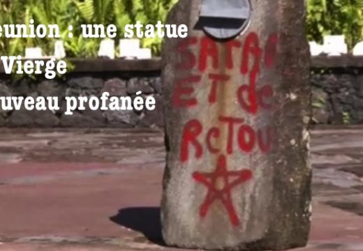 La Réunion : une statue de la Vierge de nouveau profanée
